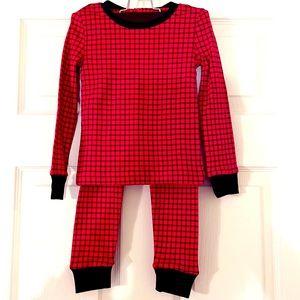 POLO Ralph Lauren Red/Black Checkered Toddler PJs